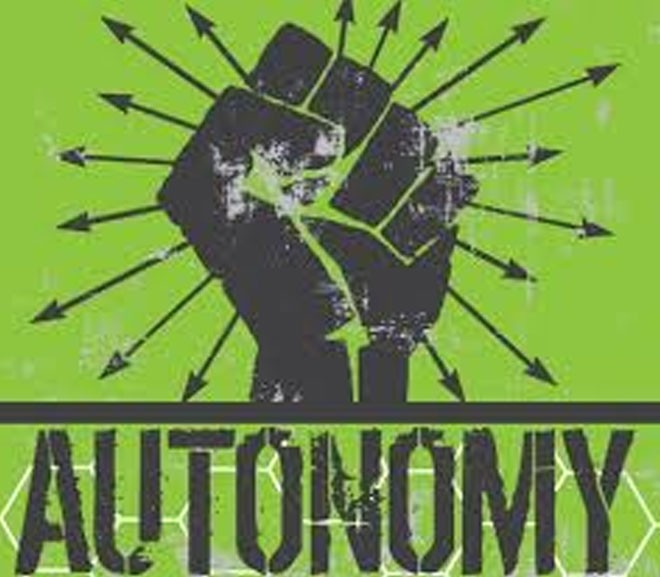 Securing And Susutaining Autonomy