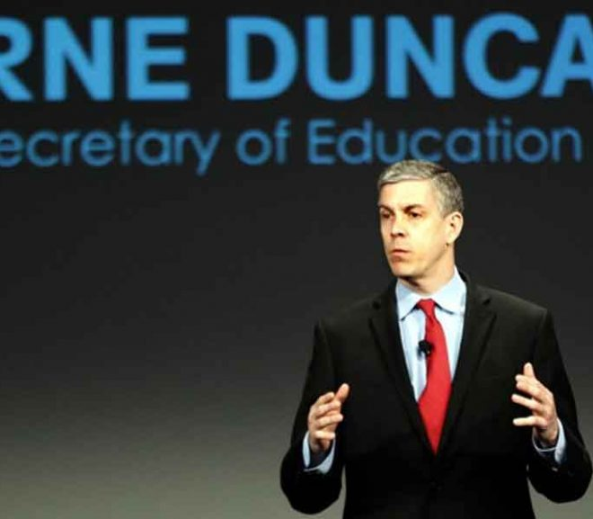 Arne Duncan: 'Everyone says they value education, but their actions don't follow'