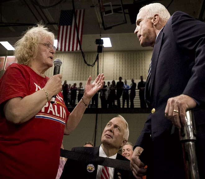 Spotswood: McCain sets example for civic discourse