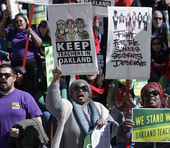 Oakland Teachers End Strike After 7 Days, Reach Agreement With Schools-Almost